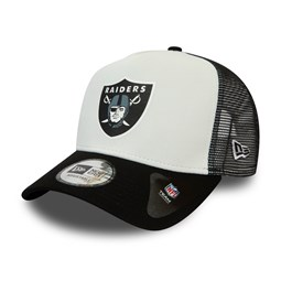 Las Vegas Raiders Team Colour Block White Trucker
