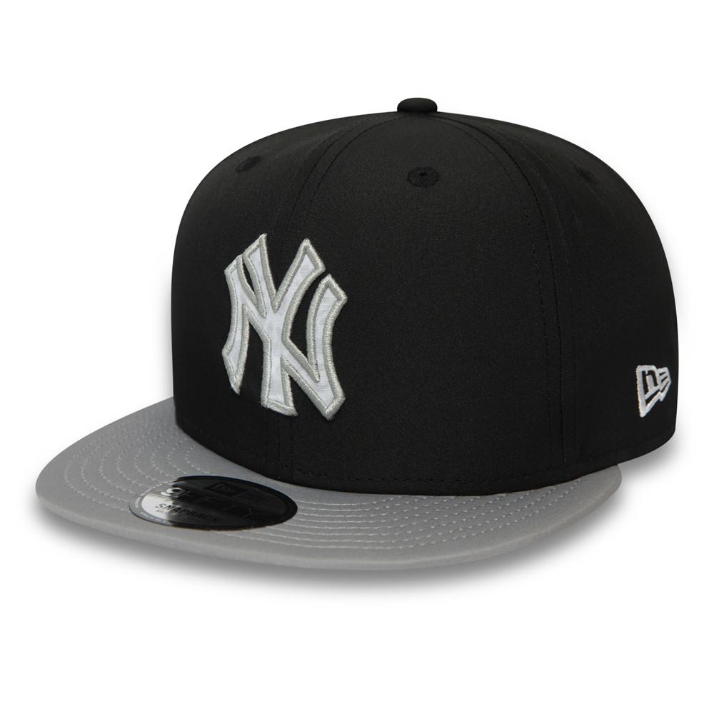 Casquette noire 9FIFTY à visière contrastante des New York Yankees