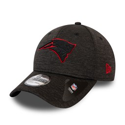 Gorra New England Patriots Neon Outline Shadow Tech 39THIRTY, gris