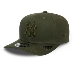 New York Yankees Essential Green 9FIFTY Stretch Snap Cap