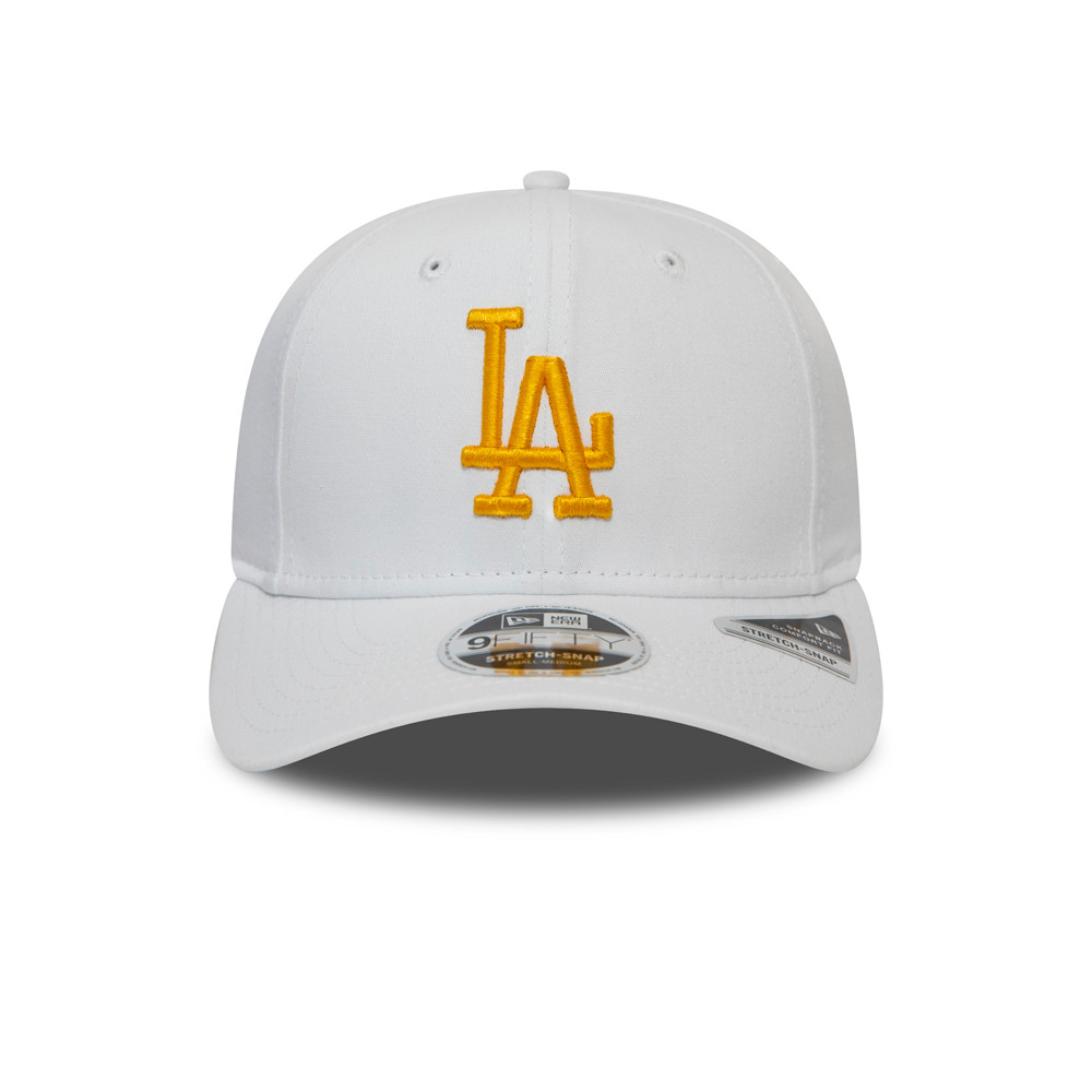 Los Angeles Dodgers Essential White Stretch Snap 9FIFTY Cap