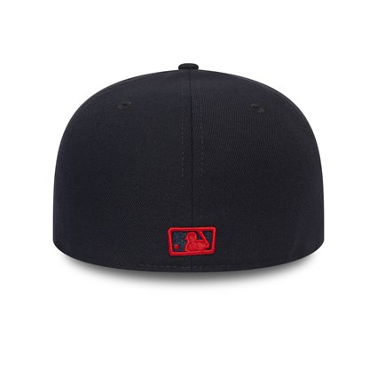 Los Angeles Dodgers Essential Red Logo 59FIFTY Cap