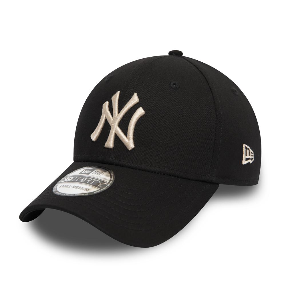New Era Heather Team 39Thirty Cap NY Yankees Dunkelblau