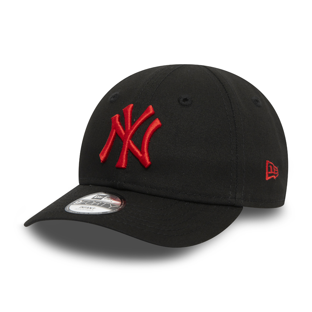 9FORTY – New York Yankees – Essential – Kleinkinderkappe in Schwarz