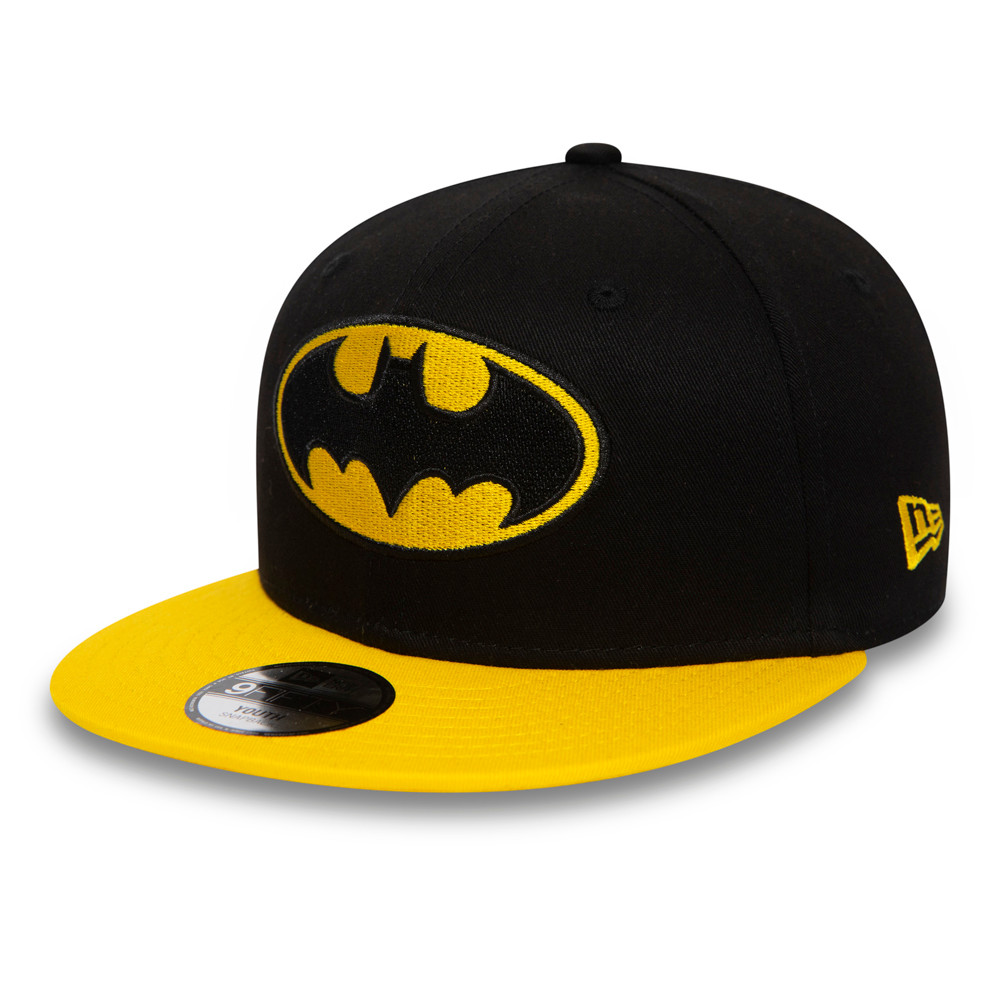 New Era Kids 940 Character Trucker Batman Snapback Baseball Cap Green Camo