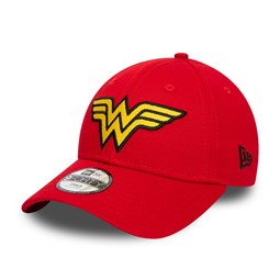 Wonder Woman – 9FORTY-Kinderkappe – Rot