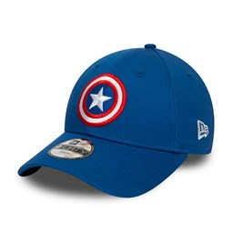Captain America Kids Blue 9FORTY Cap