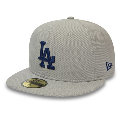 Los Angeles Dodgers Featherweight Grey 59FIFTY Cap