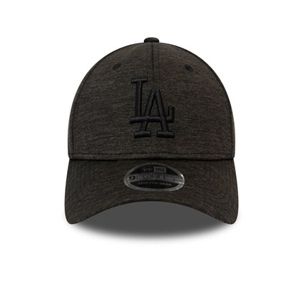 Los Angeles Dodgers Essential Striped Grey Stretch Snap 9FORTY Cap
