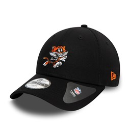 Cincinnati Bengals Icons Kids Black 9FORTY Cap