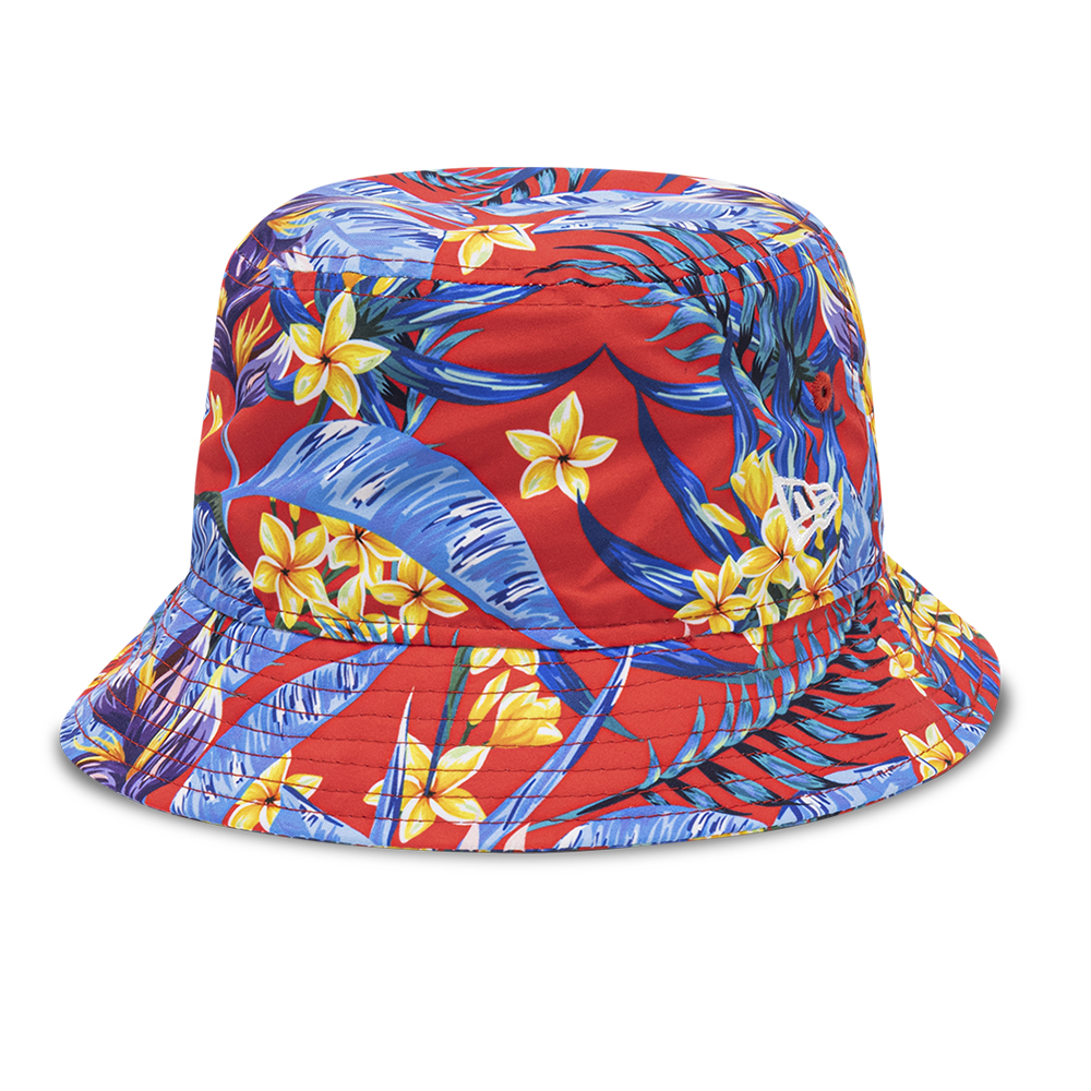 Bob New Era All Over Floral Print, rouge
