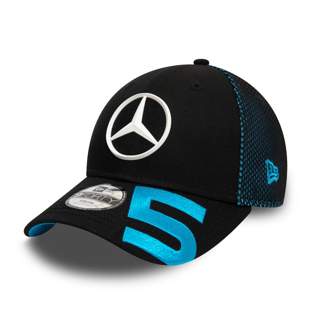 Cappellino Mercedes-Benz Formula E Stoffel Wandoorne 9FORTY nero bambino