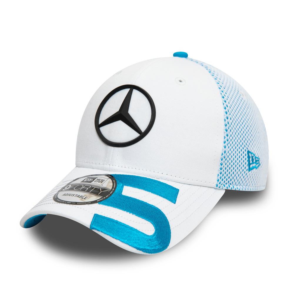 Casquette9FORTY Mercedes-Benz Formula E Stoffel Wandoorne blanche