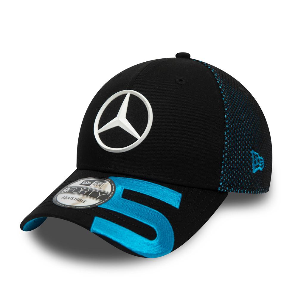 9FORTY – Mercedes-Benz – Formula E – Stoffel Vanddorne – Kappe in Schwarz