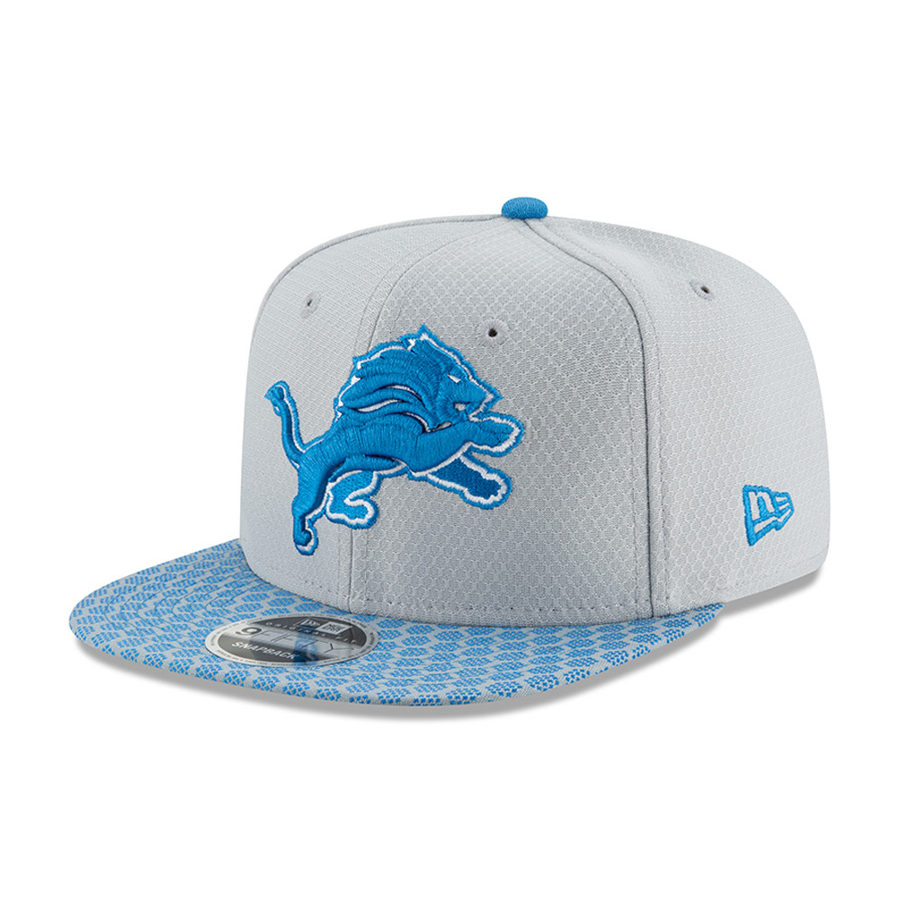 9FIFTY Snapback – Detroit Lions – 2017 Sideline OF, Silber