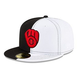 Milwaukee Brewers 100 Years Split Crown 59FIFTY Cap
