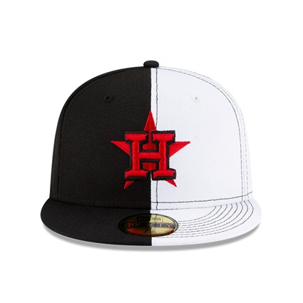 Houston Astros 100 Years Split Crown 59FIFTY Cap