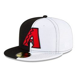 Casquette 59FIFTY des Arizona Diamondbacks 100 ans à couronne Split