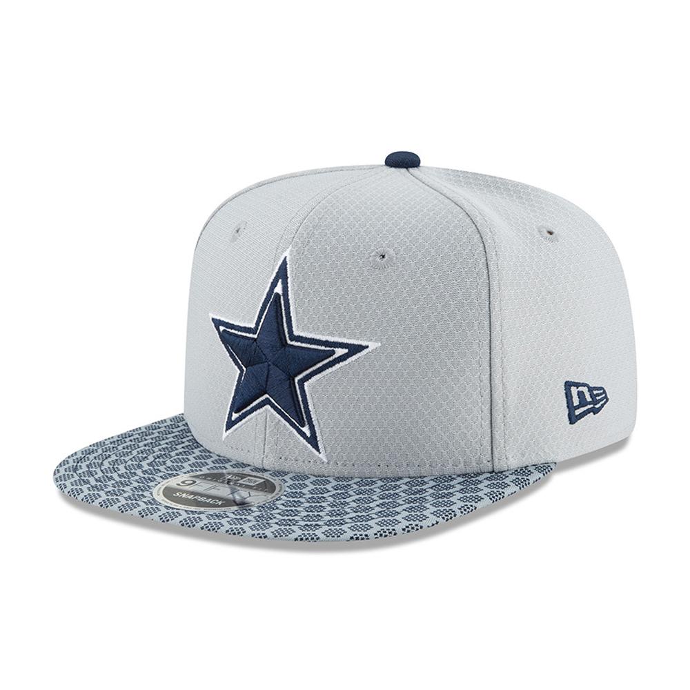 9FIFTY Snapback – Dallas Cowboys – 2017 Sideline OF, Silber