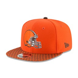 Cleveland Browns 2017 Sideline 9FIFTY Snapback arancione bd22989cce0f