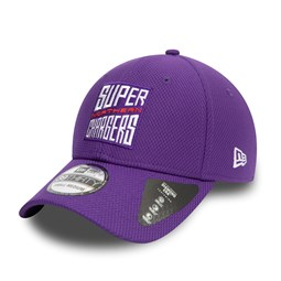 Casquette 39THIRTY Diamond Era The Hundred Super Northern Chargers, violet