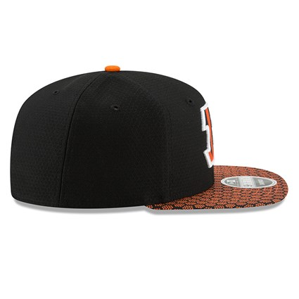 Cincinnati Bengals 2017 Sideline OF 9FIFTY Black Snapback