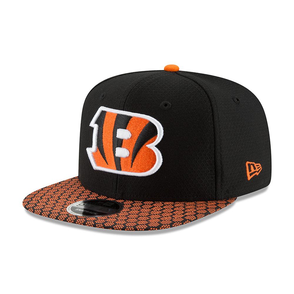 Cincinnati Bengals 2017 Sideline 9FIFTY Snapback nero