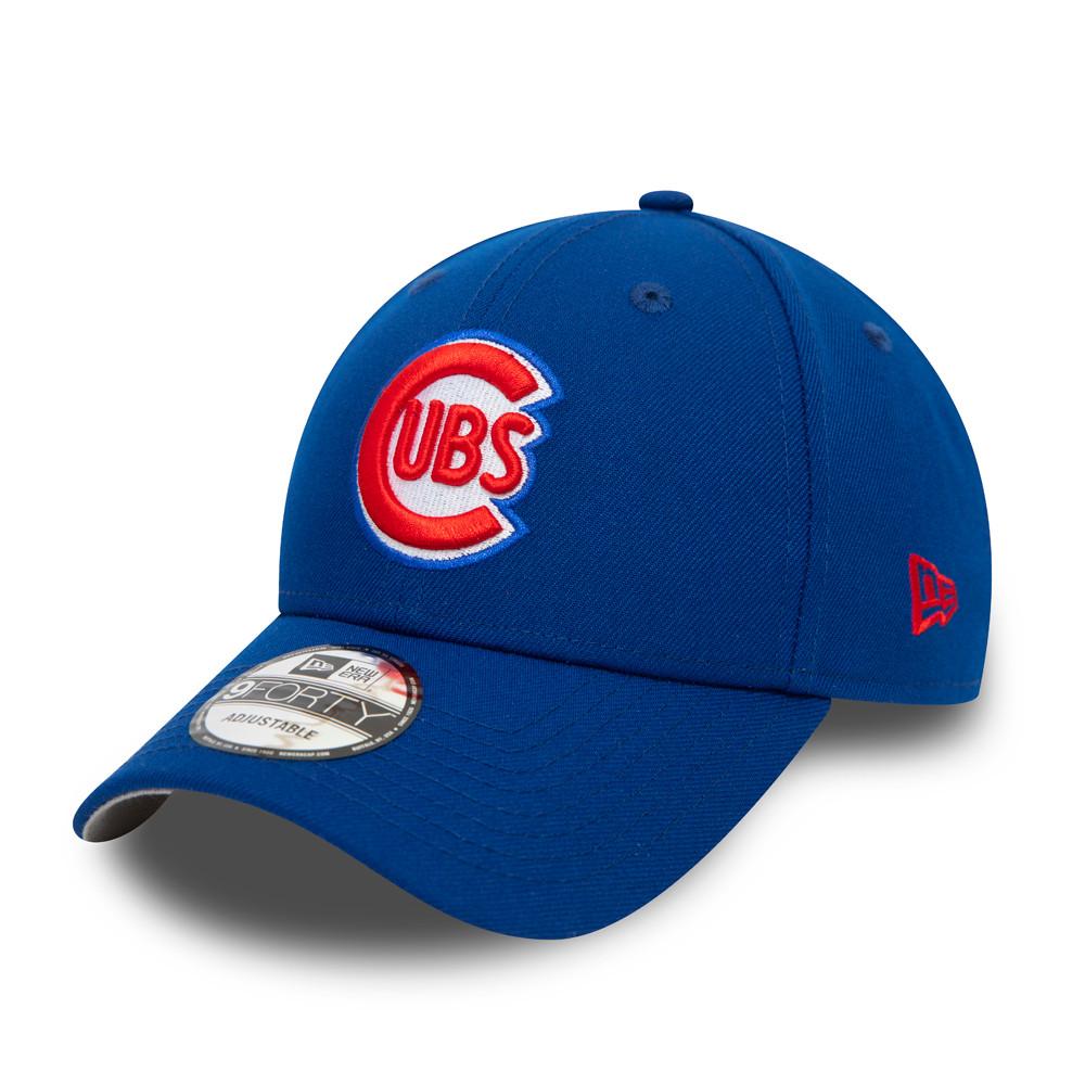 Casquette avec languette crantée Chicago Cubs London Series 9FORTY, bleu