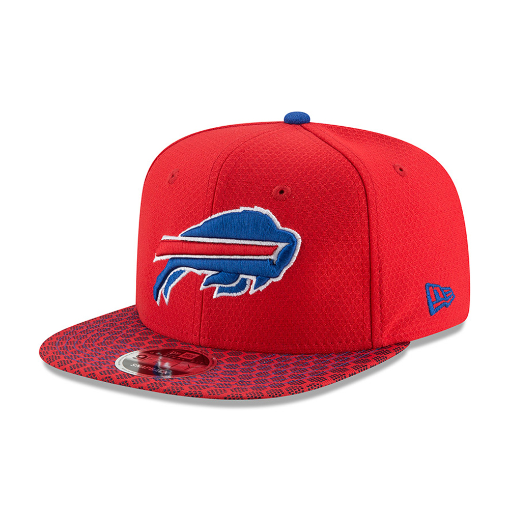 Buffalo Bills 2017 Sideline OF 9FIFTY Snapback rouge