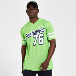 Seattle Seahawks Oversized Mesh Green T-Shirt