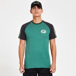 Green Bay Packers Striped Green T-Shirt