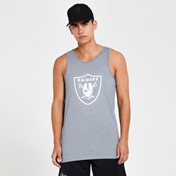 Oakland Raiders Grey Vest