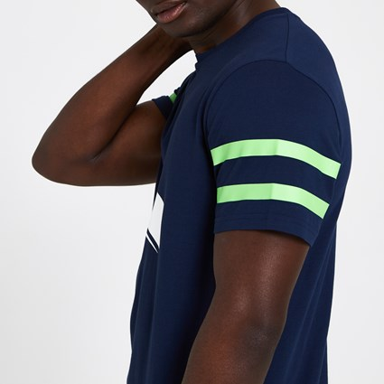 Seattle Seahawks Logo Elements Navy T-Shirt