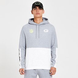 Sudadera Green Bay Packers Colour Block, gris