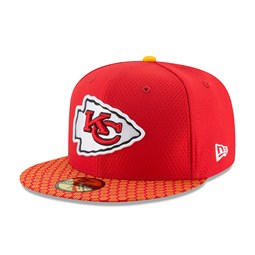 Kansas City Chiefs 2017 Sideline Red 59FIFTY