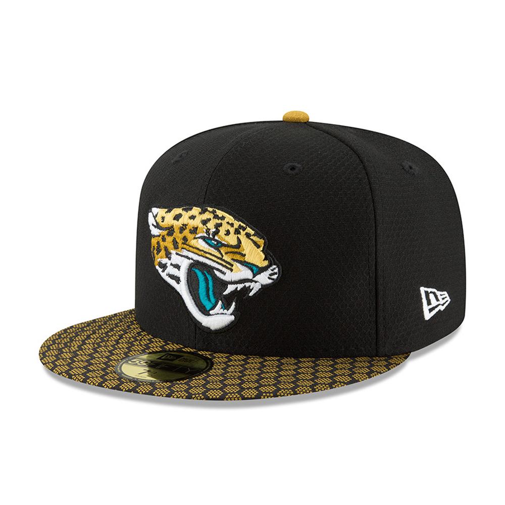 Jacksonville Jaguars 2017 Sideline Black 59FIFTY