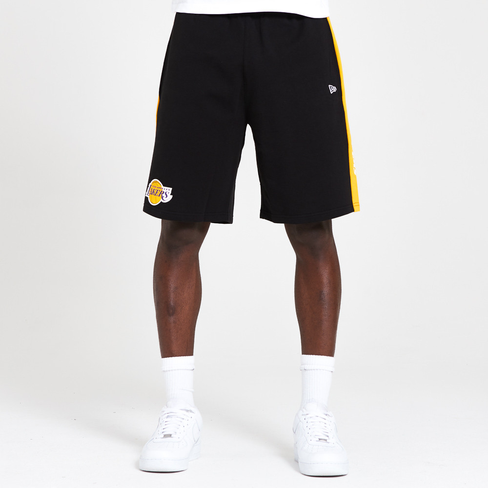 Shorts Los Angeles Lakers Tape, negro