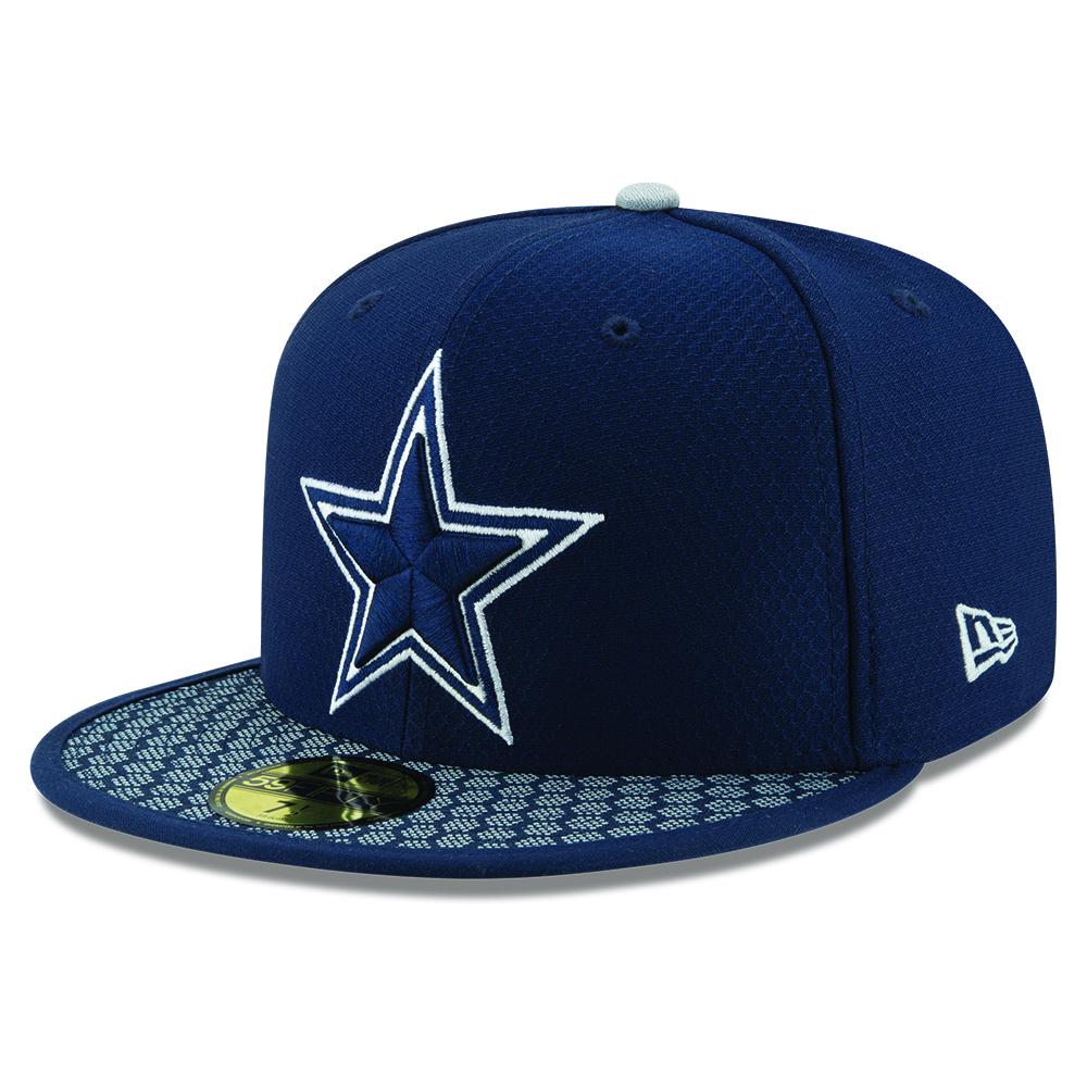 59FIFTY – Dallas Cowboys – 2017 Sideline – Marineblau