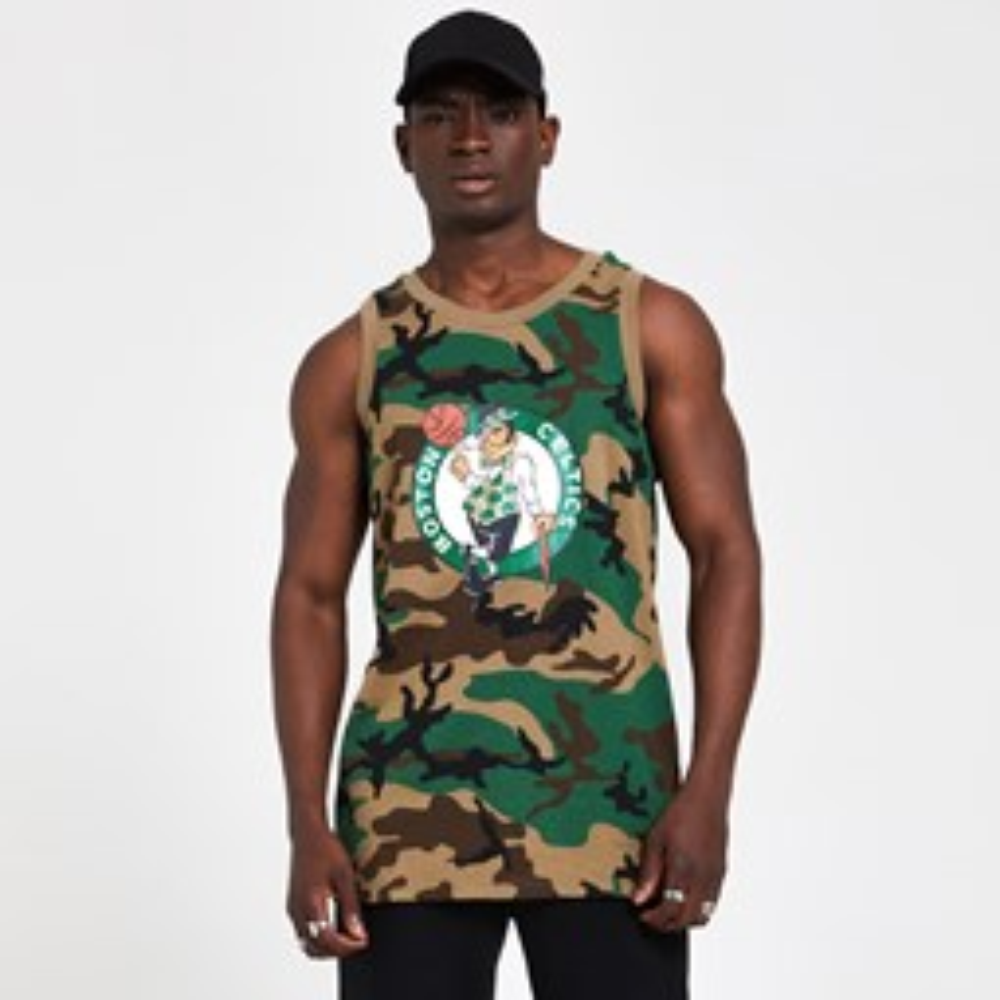 Boston Celtics Camo Vest