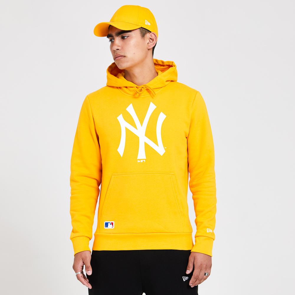 New York Yankees– Saisonaler Team-Hoodie in Gelb