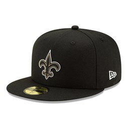 New Orleans Saints NFL20 Draft Black 59FIFTY Cap
