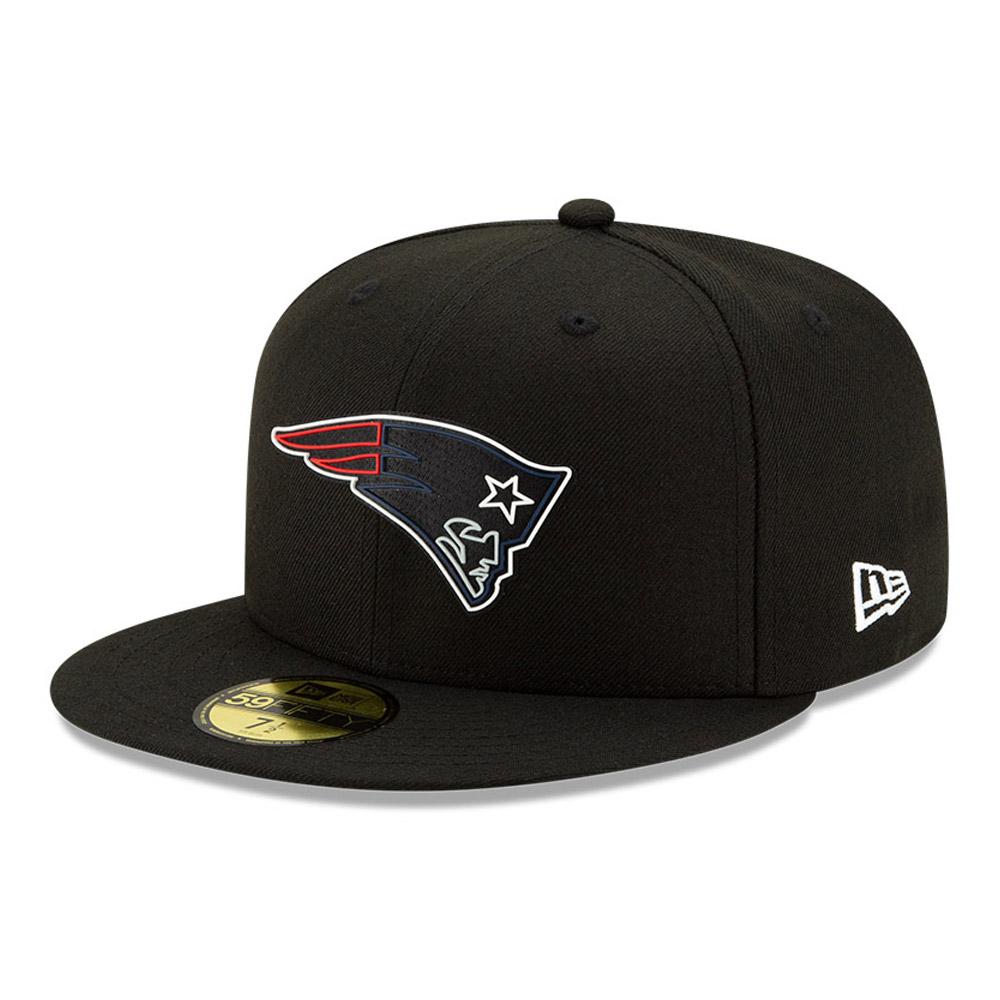 NEW Era-NFL New England Patriots Super Bowl LII Patch 9 Forty Snapback Cap-NA