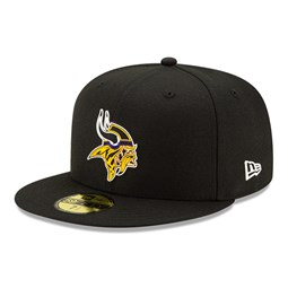 Minnesota Vikings NFL20 Draft 59FIFTY-Kappe in Schwarz