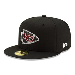Kansas City Chiefs NFL20 Draft Black 59FIFTY Cap