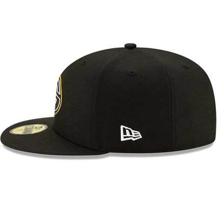 Green Bay Packers NFL20 Draft Black 59FIFTY Cap