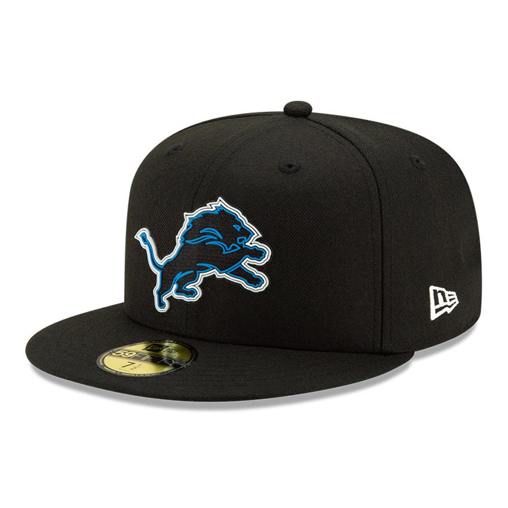 Casquette NFL20 Draft Black 59FIFTY des Lions de Detroit