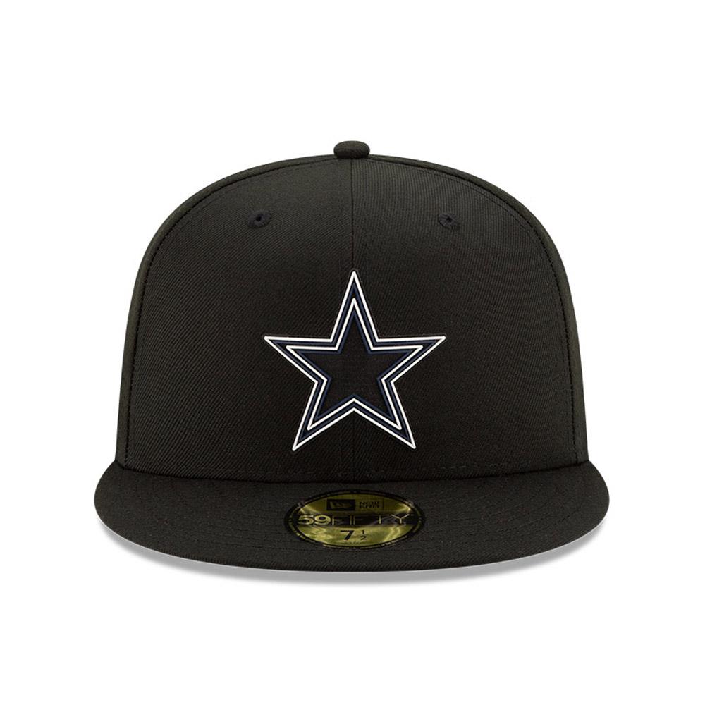 Casquette NFL20 Draft Black 59FIFTY des Cowboys de Dallas