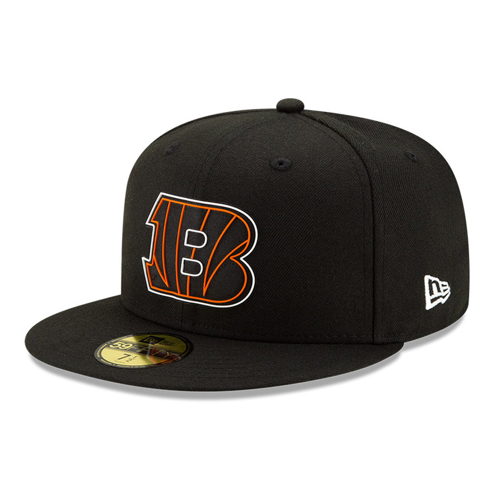 Cincinnati Bengals NFL20 Draft Black 59FIFTY Cap