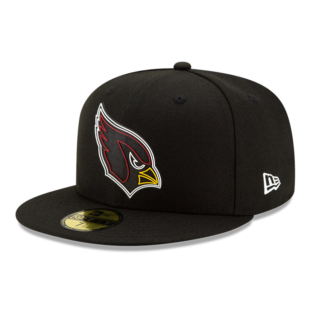 Arizona Cardinals NFL20 Draft Black 59FIFTY-Kappe