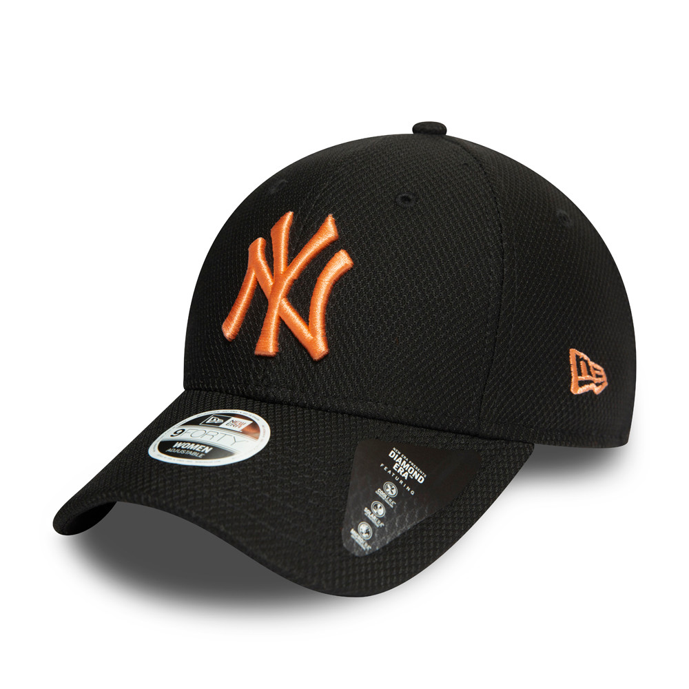 New York Yankees – Diamond Era – 9FORTY-Damenkappe – Schwarz